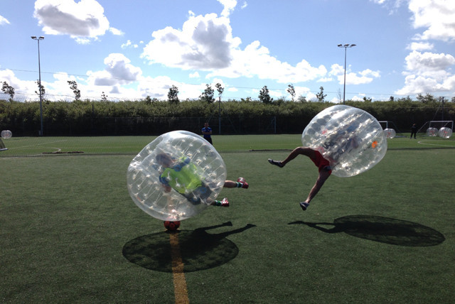 Bubble football with Nebubblefootball.co.uk