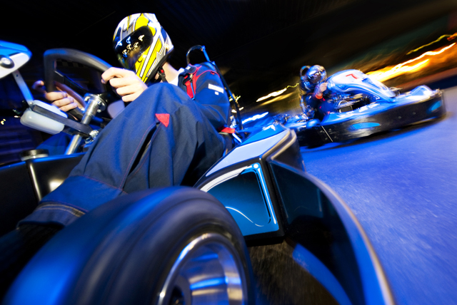 Go Karting with Nestagsandhens.co.uk