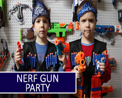 Nerf Gun party in newcastle