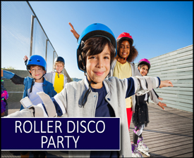 Roller Disco Party in Newcastle