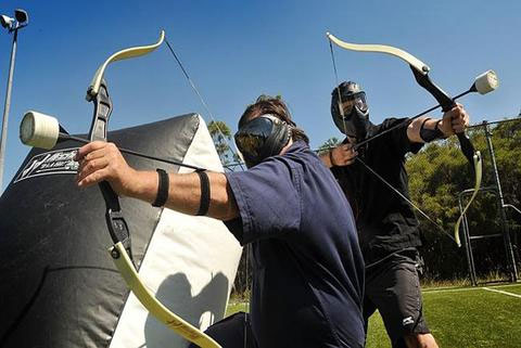 Archery Combat party in Newcastle
