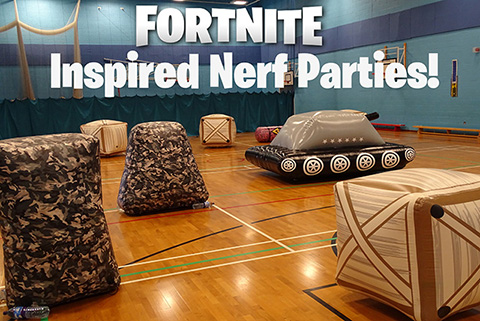 Fortnite Inspired Nerf Party Newcastle